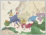 Europe - 810 AD