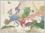 Europe - 1120 AD by Cyowari