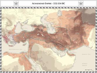 Achaemenid Empire - 552-336 BC by Cyowari