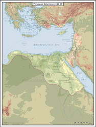 Ptolemaic Egypt - 240 BC by Cyowari