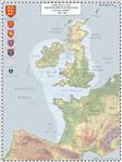 Angevin Empire AD 1189
