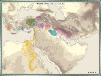 Ancient Middle East - 1475 BC by Cyowari