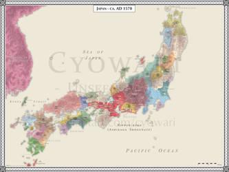 Japan AD 1570 - Sengoku Jidai by Cyowari