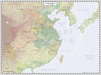 Ancient China - 255 BC by Cyowari