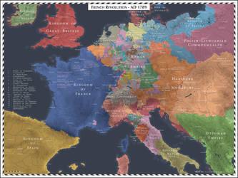 French Revolution - 1789 by Cyowari