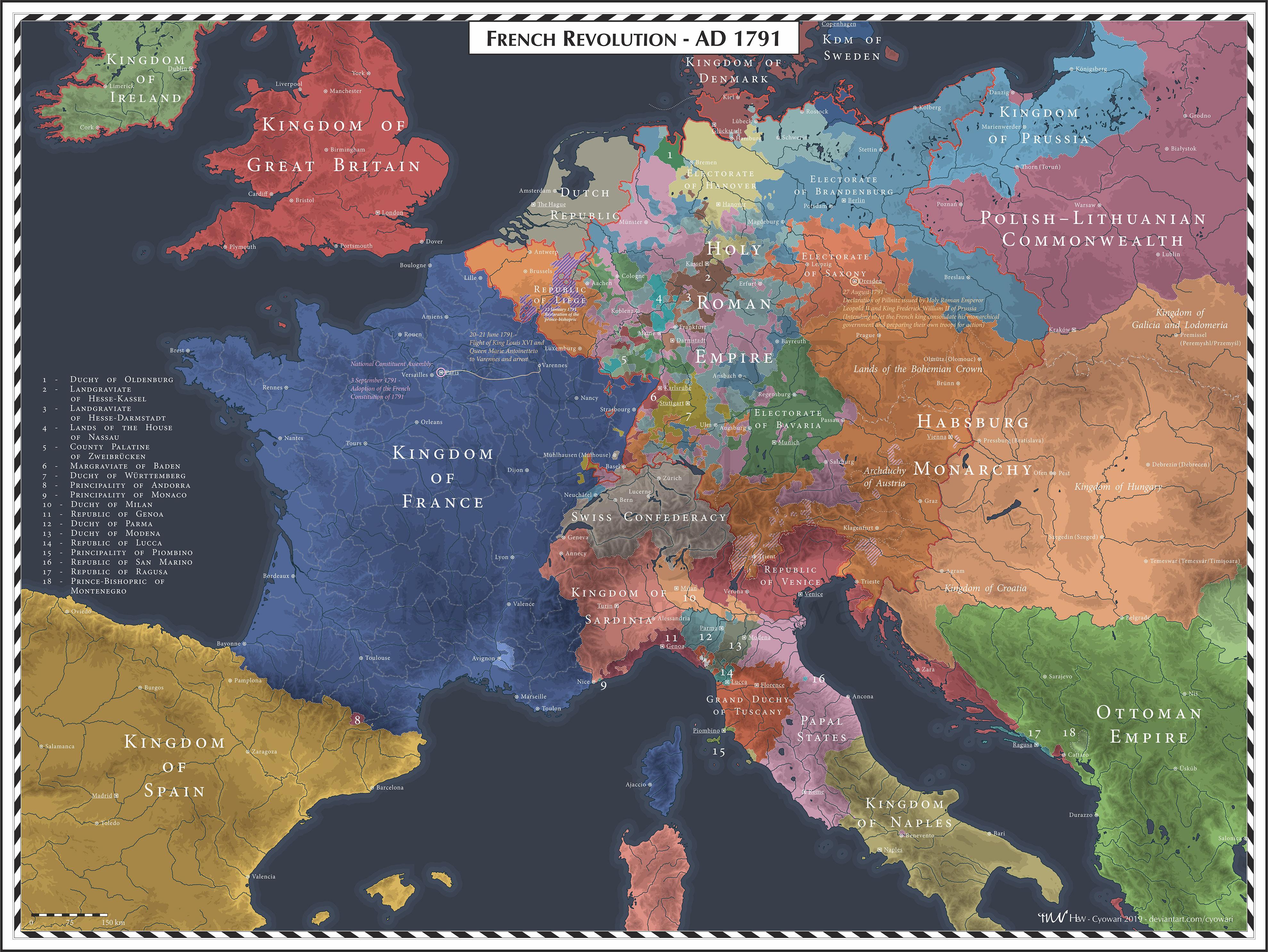 French Revolution - 1791