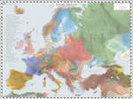 Europe (Detailed) - AD 1618