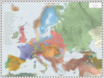 Europe (Detailed) - AD 1789