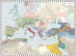 Europe - Mediterranean (Detailed) - 265 BC