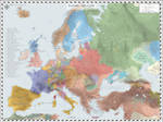 Europe (Detailed) - AD 1590