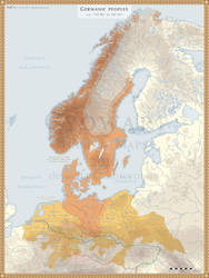 Germanic Peoples ca. 750 BC - AD 50