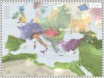 Europe (Mediterranean - Detailed) - AD 745