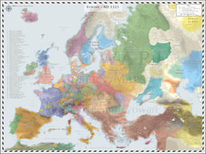 Europe (Detailed) - AD 1521