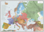 Europe (Detailed) - AD 1721