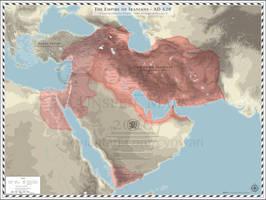 Empire of Iranians (Sasanian Empire) - AD 620