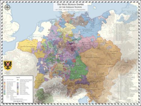 Holy Roman Empire - AD 1648