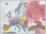 Europe (Detailed) - AD 1920