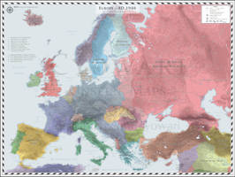 Europe (Detailed) - AD 1940