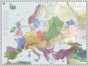 Europe (Detailed) - AD 1032