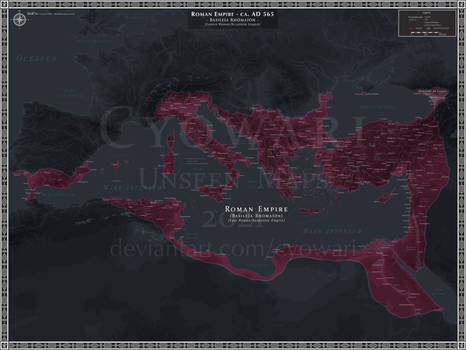 Roman (Byzantine) Empire AD 565 - Dark