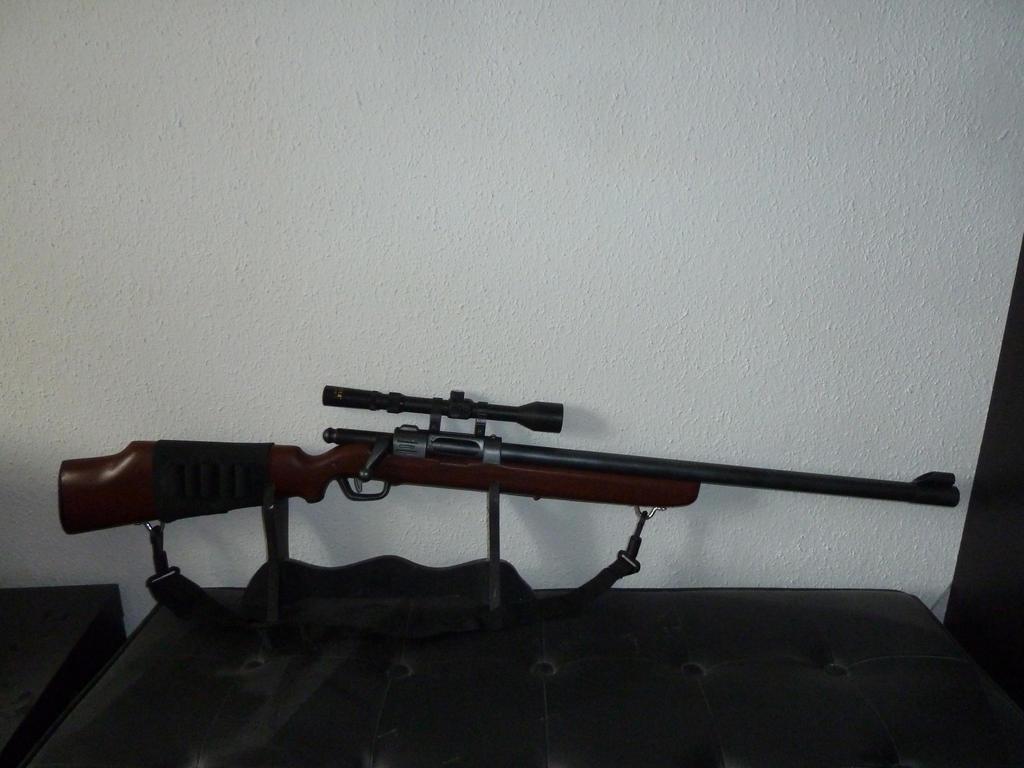 Buzz Bee Hunter Nerf Ish Rscb Bolt Action Rifle By Hoellenhamster On Deviantart