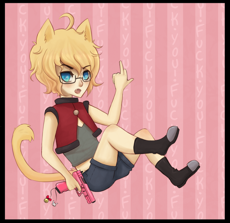 KAE IS FOR KAT CONTEST ENTRY by Pajuxi