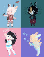 Lineless Dainty Cheebs!! by Pajuxi