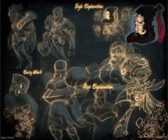 Dominance War IV: Sketches by Zatransis
