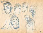 Train Sketches 1