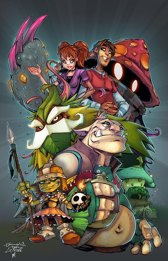 Free Realms Comic Pitch Art by Zatransis