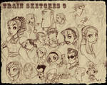 Train Sketches 9
