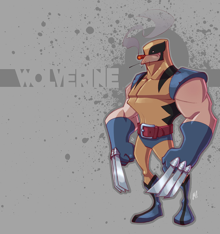 Simple Wolverine
