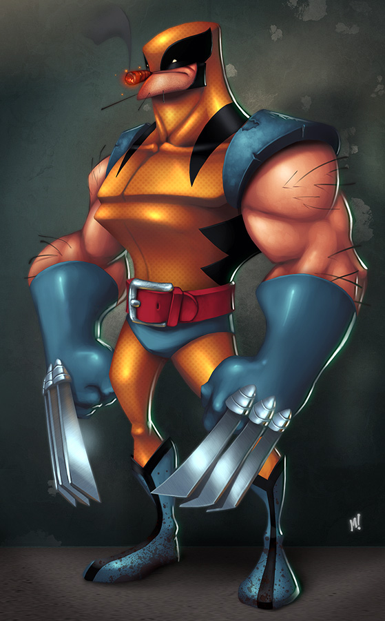 Wolverine in the Full
