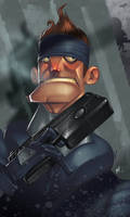 His Name is Solid Snake