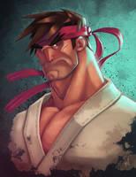 Ryu's Booboo by Zatransis