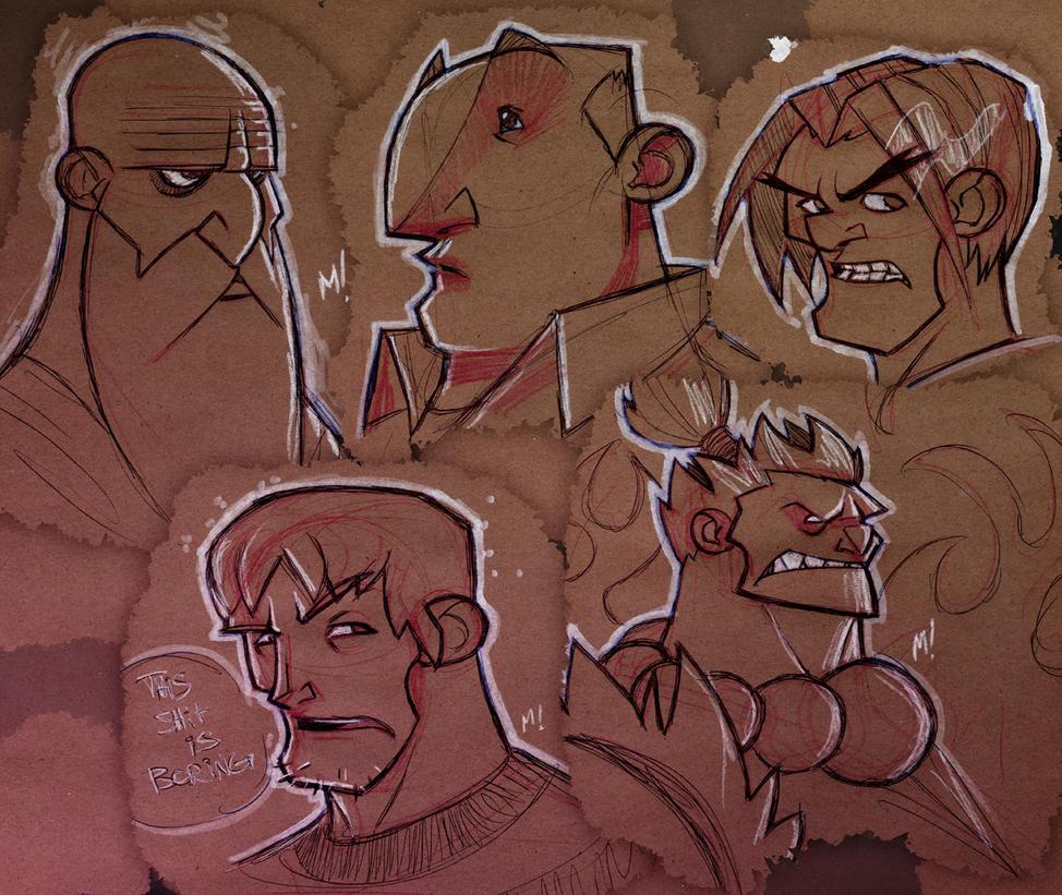 SketchBomb: May 22 2010 Drunk by Zatransis
