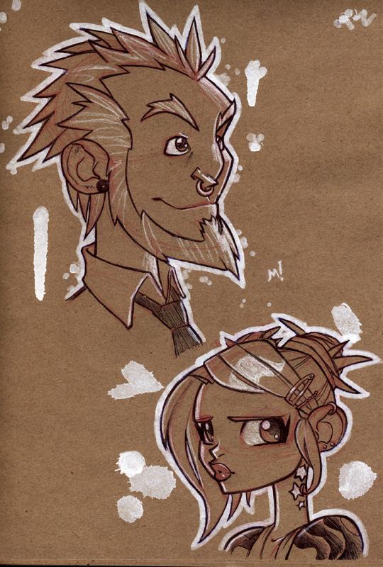 Heads by Zatransis