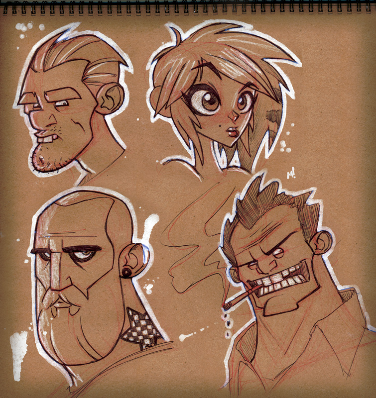 Live Stream Sketches by Zatransis