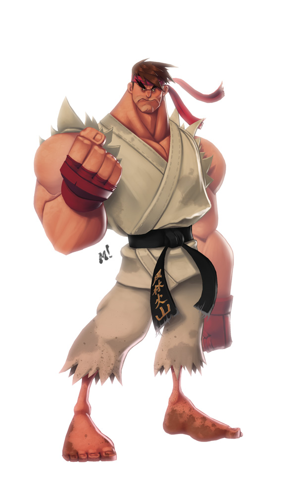 Original Street Fighter: Ryu by Zatransis