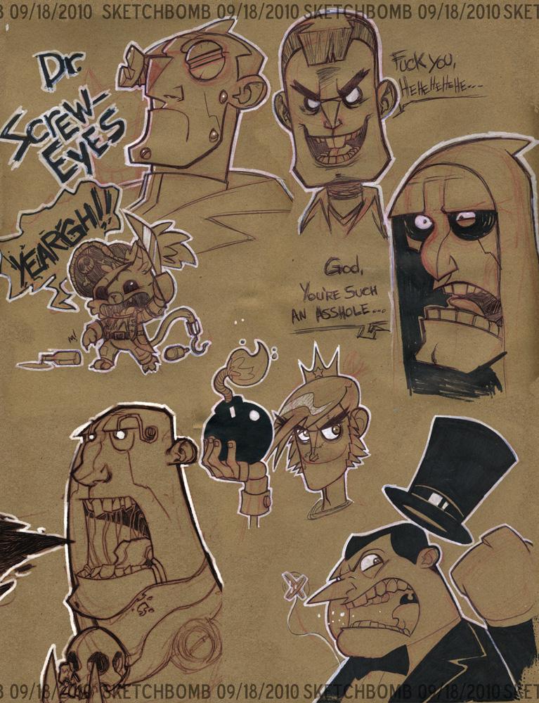 September SketchBomb by Zatransis