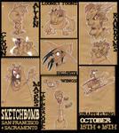 SketchBomb: SF and Sacramento