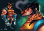 Wolverine Unmasked by Zatransis