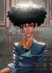 Spike Spiegel by Zatransis