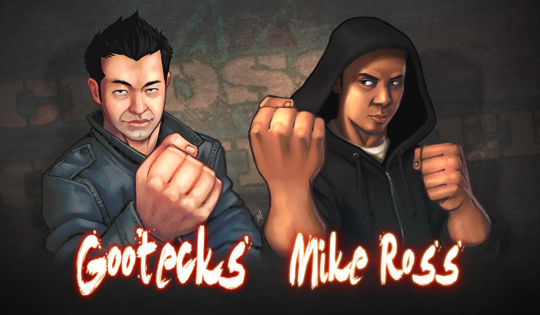 gootecks_and_mike_ross_by_zatransis-d3fksnp.jpg