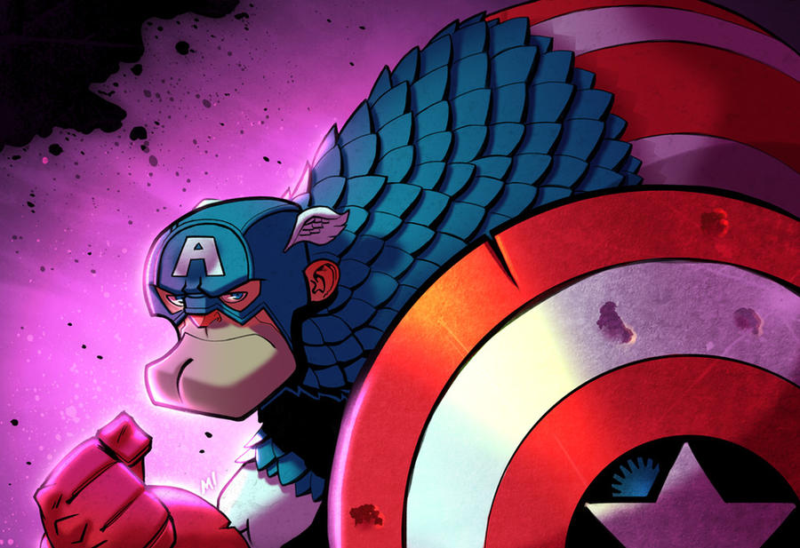 Captain America by Zatransis