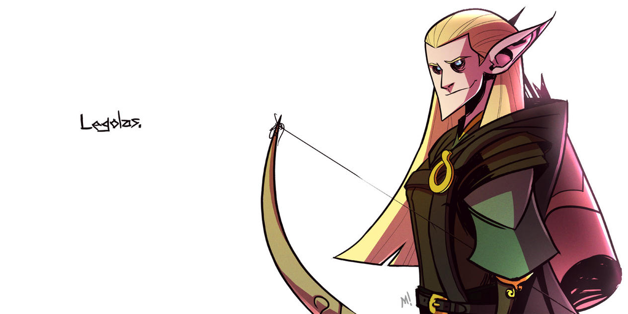 Lord of the Rings: Legolas by Zatransis