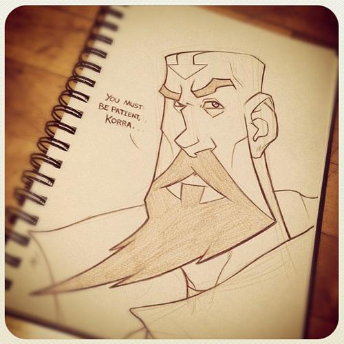 Legend of Korra: Aang's Son, Tenzin by Zatransis