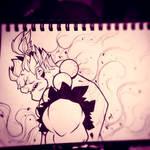 Street Fighter Sketches: Gouki