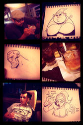 Sketch Night in Sacramento by Zatransis