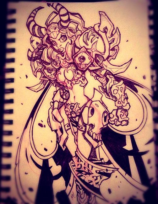 Mysteria of Gortoltug - AKA Some Chick in Armor by Zatransis